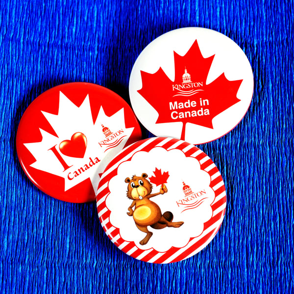 Celebrating Canada Day in Kingston | Custom Buttons Ottawa
