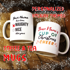 personalized coffee tea mugs