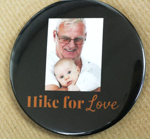 Spring Charity and Memorial Walks | Custom Memorial Buttons