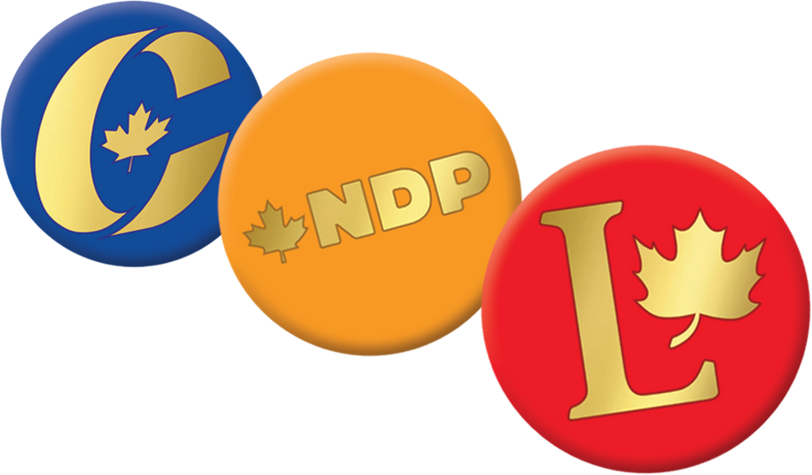 Let Your Campaign Buttons Stand Out with a Special Finish