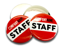 Staff Badges Employee Name Tags