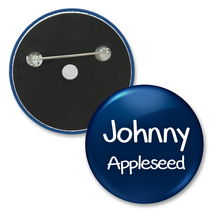 2 inch custom name tag button