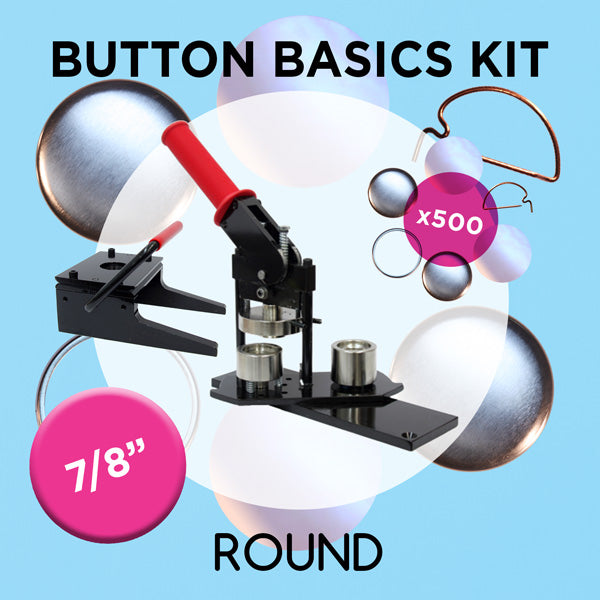 7/8 inch Button Basics Kit