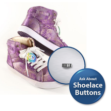 Shoelace Button for 1 1/4 inch buttons