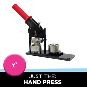 button press for making cool little pinback buttons