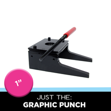 "Tecre 1"" Graphic Punch Circle Cutter"
