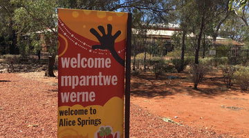 Blog #2 Alec's first trip to Alice Springs in 1997