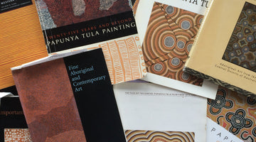 Blog #1 Getting hooked on Aboriginal art