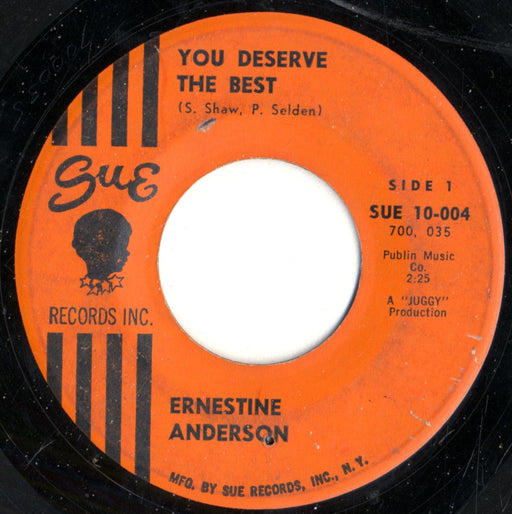 You Deserve The Best / You're Not The Guy For Me 7""
