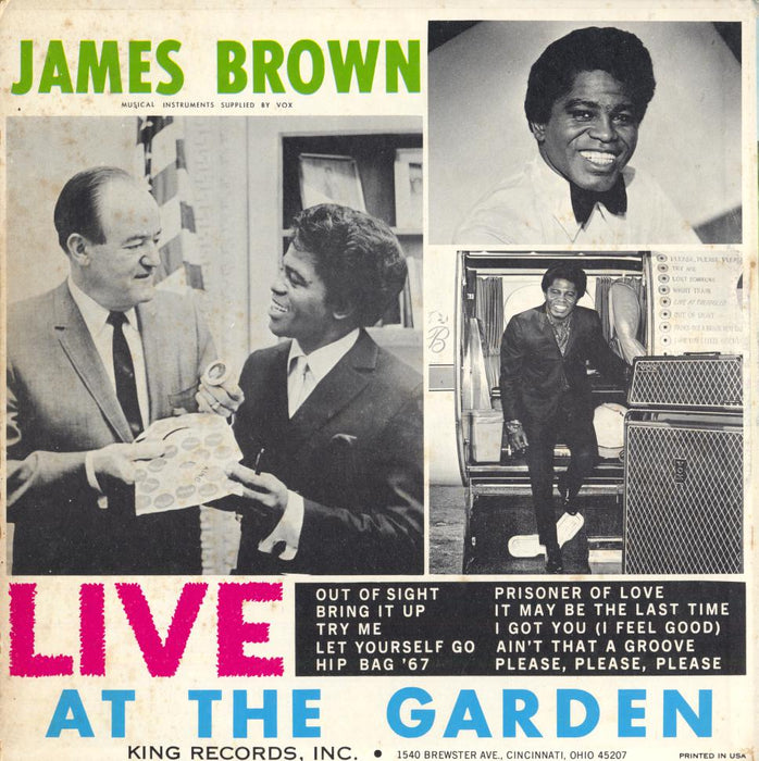 Live At The Garden (1st, US STEREO)