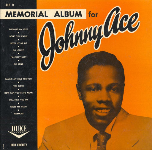 Memorial Album For Johnny Ace (1956 US Press)
