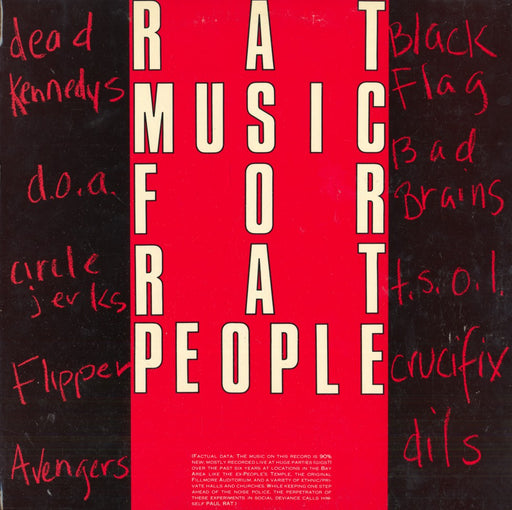 Rat Music For Rat People (1982, Compilation)