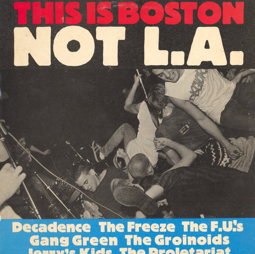This Is Boston Not L.A. (1982, Compilation)