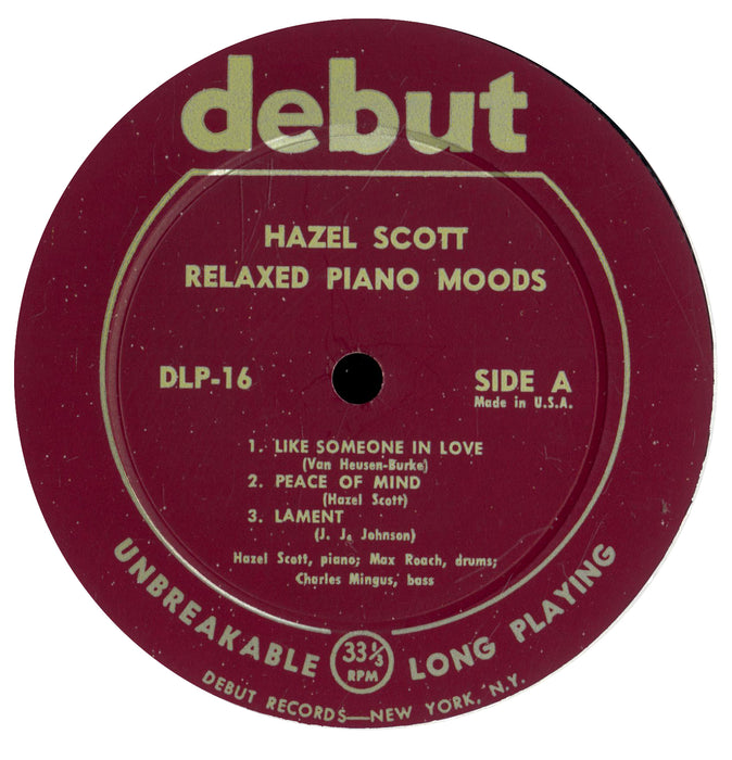 "Relaxed Piano Moods (10"", 1955)"
