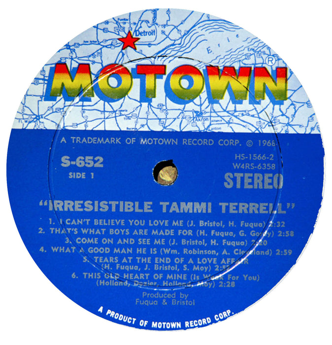 Irresistible Tammi Terrell (STEREO)