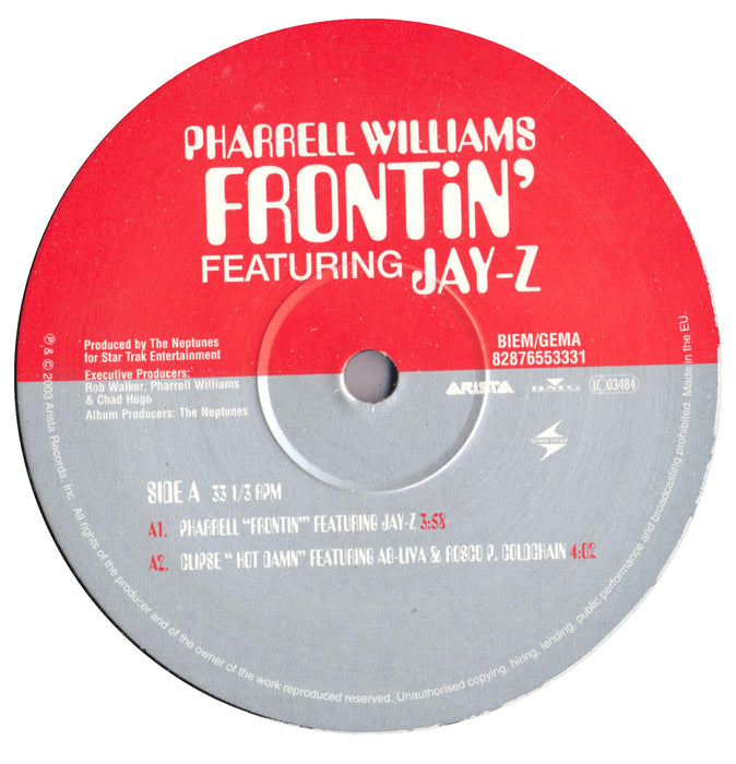 "Frontin' 12"" (UK only Pic sleeve)"