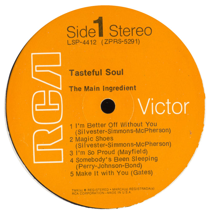 Tasteful Soul (1st, US Press)