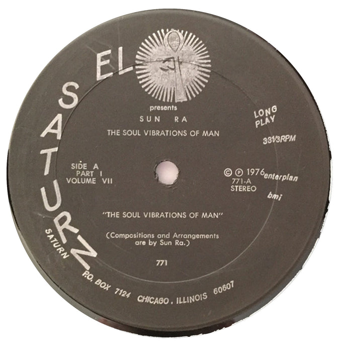 The Soul Vibrations Of Man 12""