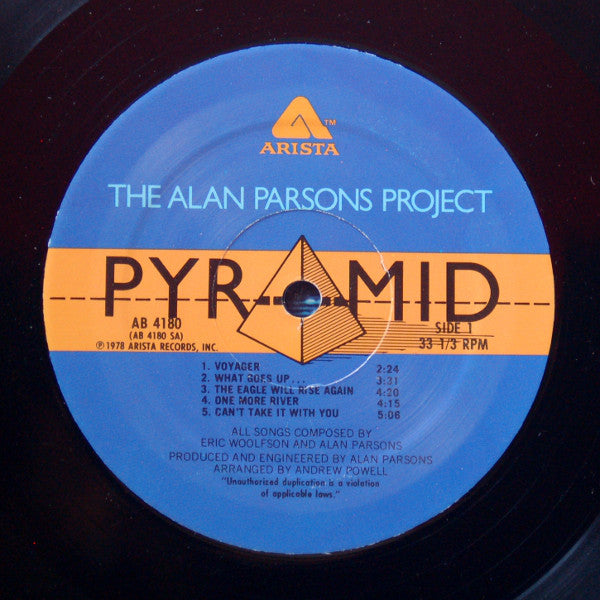 Pyramid (1st, US Press)