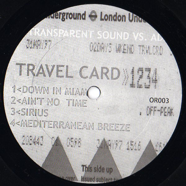 Travel Card 12""