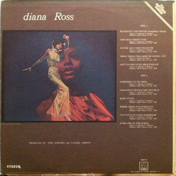 Diana Ross (1st, US Press)