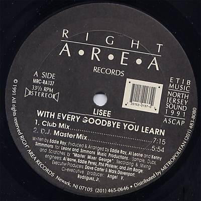 With Every Goodbye You Learn 12""