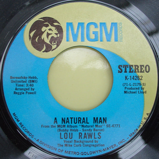 A Natural Man / You Can't Hold On