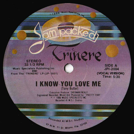 I Know You Love Me 12""