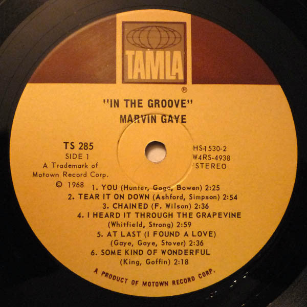 In The Groove (1st, US Press)