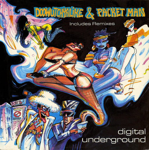Doowutchyalike / Packet Man 12""