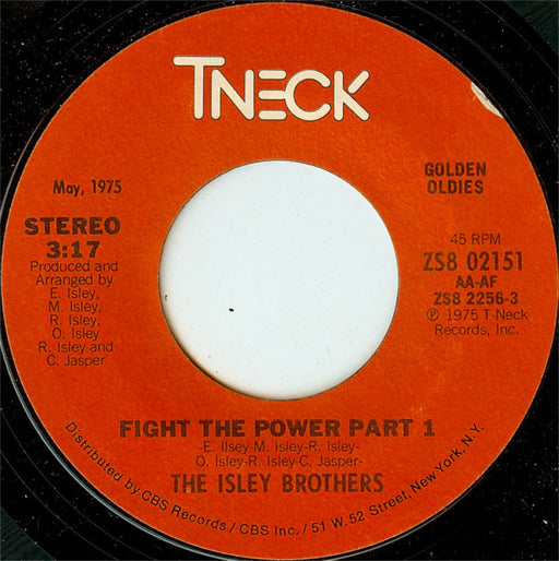 Fight The Power / Don't Say Goodnight (It's Time For Love)
