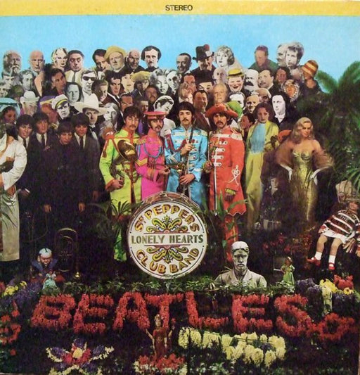 Sgt. Pepper's Lonely Hearts Club Band (US Press + Insert)