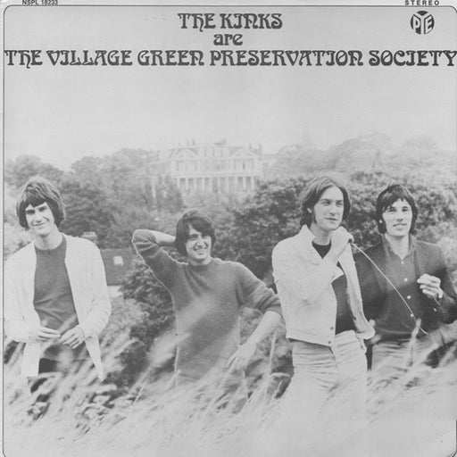 The Kinks Are The Village Green Preservation Society (1st Swedish)