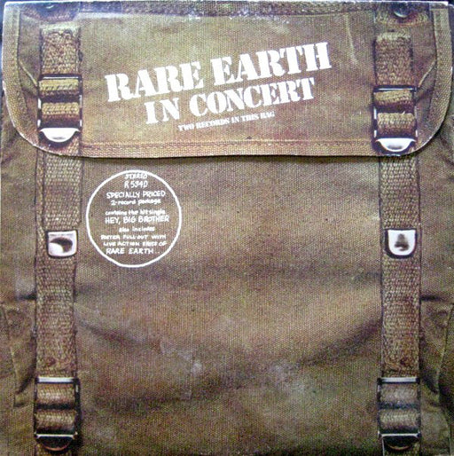 Rare Earth In Concert (1st, 2xLP)