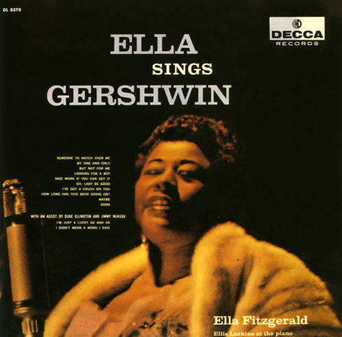 Ella Sings Gershwin (1st, US Press)
