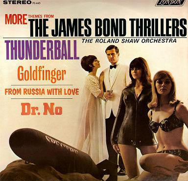 More Themes From The James Bond Thrillers (1st, STEREO)