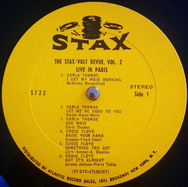 The Stax / Volt Revue Volume 2 Live In Paris