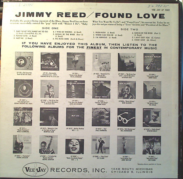 Found Love (1960 US Press)