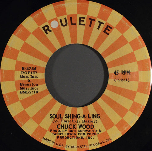 Seven Days Too Long / Soul Shing-A-Ling 7""