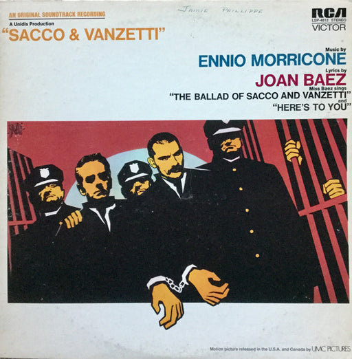 Sacco & Vanzetti (1st, US Press)