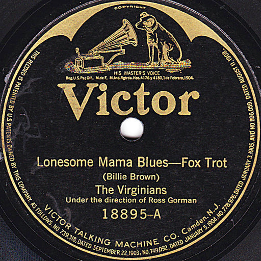 Lonesome Mama Blues / Memphis Blues