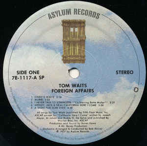 Foreign Affairs (1st, US Press)