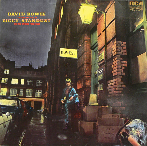 The Rise And Fall Of Ziggy Stardust And The Spiders From Mars (German, Gatefold)