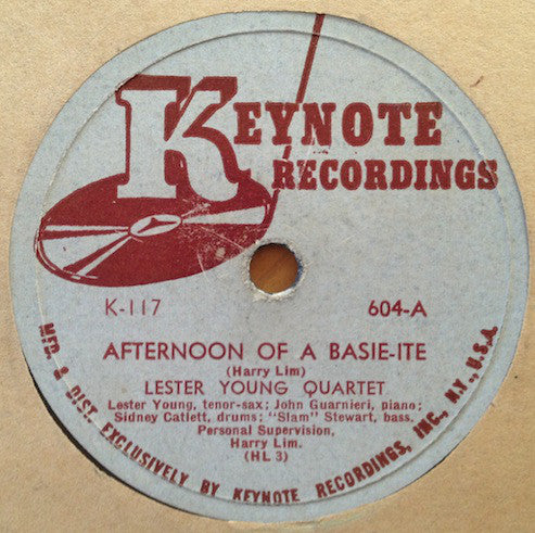 Afternoon Of A Basie-ite / Sometimes I'm Happy