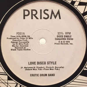 "Love Disco Style / Jerky Rhythm (12"", Promo, Red)"