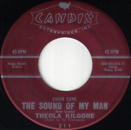 Chain Gang The Sound Of My Man 7""
