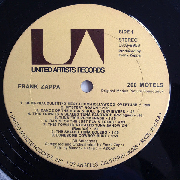 200 Motels (1st, US Press)