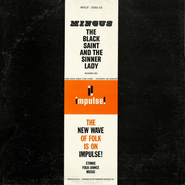 The Black Saint And The Sinner Lady (1st, STEREO Press)