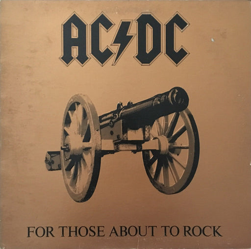 For Those About To Rock (We Salute You) (1st, US Press)