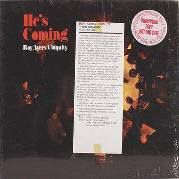 He's Coming PROMO (SEALED)